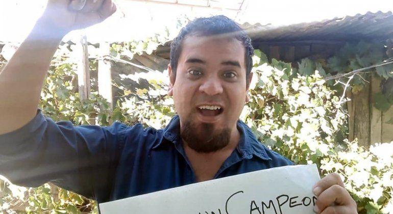 Integrante del equipo de docentes del Jardín 114 de Las Perlas.