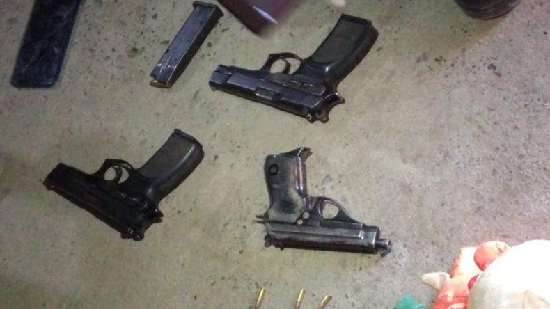 Allanaron un comedor comunitario y encontraron armas de fuego