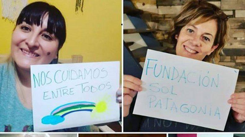 Sol Patagonia mudó su trabajo social a las redes