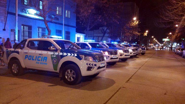 Corrían picadas en plena cuarentena y al huir casi atropellan a un policía