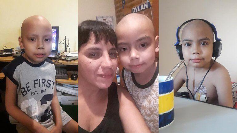 Mateo viajó a Buenos Aires y recibió el trasplante de médula ósea
