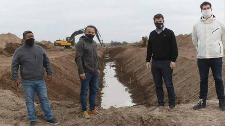 El nuevo valle productivo del Plan Castello será clave en la reactivación económica de Río Negro