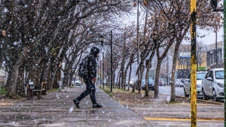 Se disipa la probabilidad de nieve en el Alto Valle