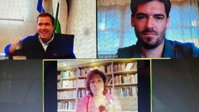 Carreras le anunció a Pogliano que El Bolsón pasará a fase de Distanciamiento Social