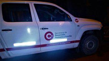 detuvieron a municipal y secuestraron una camioneta oficial