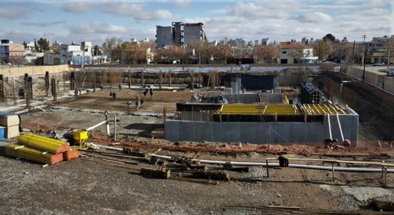 Inició la construcción de la planta baja de la Ciudad Judicial