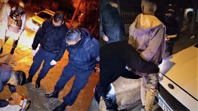 Sorprenden a un joven con droga en el barrio Don Bosco
