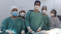 el hospital realizo inedita cirugia a una paciente oncologica
