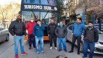 marcharon en cipolletti por la ley de emergencia turistica