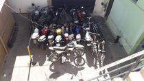 rapido despliegue de la policia permitio recuperar una moto