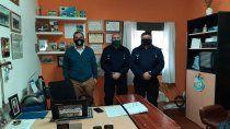 el jefe de la policia visito la regional quinta