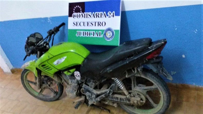 Recuperaron una moto que fue sustraída hace 6 años