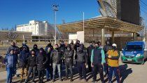 trabajadores del casino realizaron un reclamo solidario