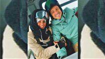bariloche: gaudio y su novia violaron la cuarentena para esquiar