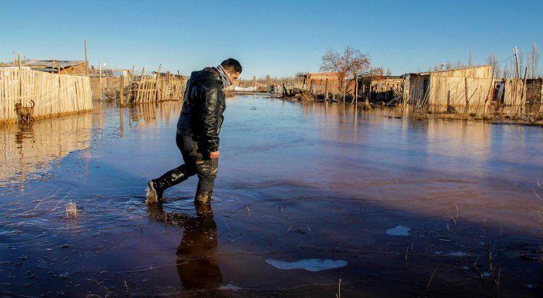 Barrio Nuevo tras las inundaciones