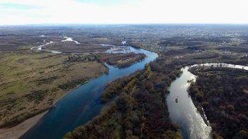 esperan importante aumento en el caudal del rio negro