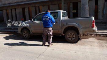 encuentran en neuquen la camioneta robada a un comerciante cipoleno