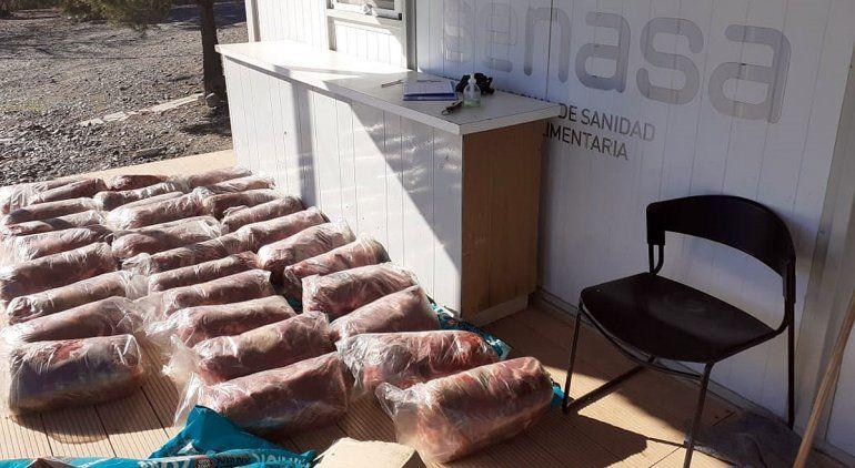 El Senasa donó 13,5 toneladas de alimentos