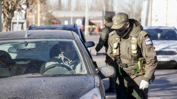 desembarco gendarmeria para reforzar los controles