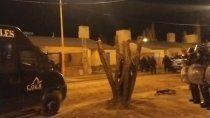 huergo: una reunion social termino con agresiones y varios detenidos