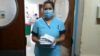 los internos no paran de ayudar en la lucha contra el coronavirus