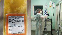 el hospital pide a los recuperados que donen plasma