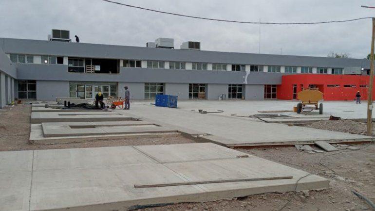Ya está casi terminada la Ciudad Judicial de Villa Regina