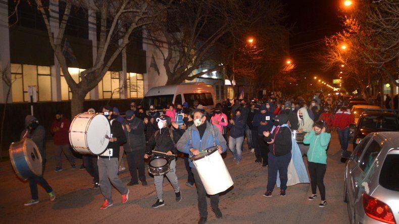 Tras el acuerdo, la Policía suspendió las protestas