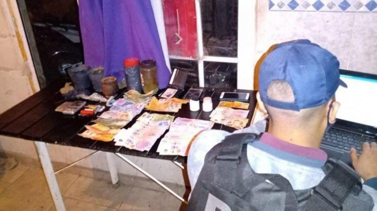 La Policía desarticuló un kiosco de droga en Allen
