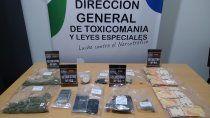 la policia desarticulo un kiosco de droga en allen