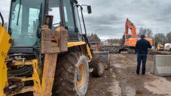 cinco detenidos por robar hierros para la construccion de la ruta 22