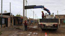 avanzan a buen ritmo las obras electricas en barrio obrero