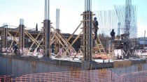 avanza a buen ritmo la construccion del nuevo edificio de energia