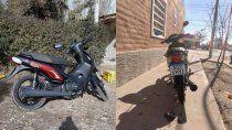 le robaron la moto que compro junto a su mama y la busca desesperadamente