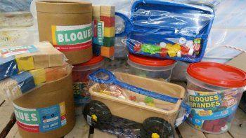 llegan juguetes para centros de primera infancia