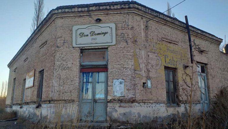El almacén de ramos generales Don Domingo.