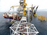 Foto de archivo de una plataforma petrolera de Equinor en el campo Johan Sverdrup en el Mar del Norte. Ago 22, 2018. REUTERS/Nerijus Adomaitis