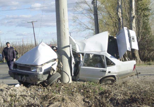 Violenta y fatal colisión en Allen