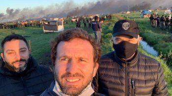 Desalojo en Guernica: el fiscal destacó que no hubo represión y habló de su polémica selfie