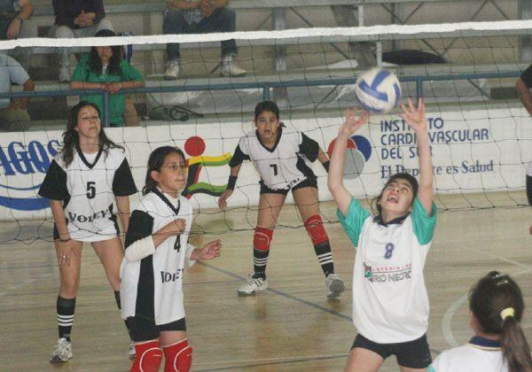 Torneo Nacional de voley Sub12 y Sub13