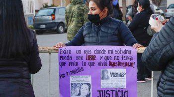 femicidio de agustina: familiares y organizaciones piden justicia