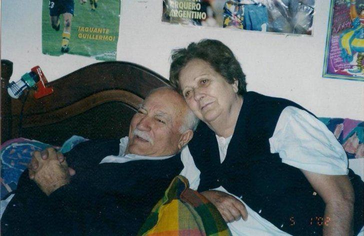 Eduardo Lamastra y su esposa Francisca Carmen Tomes se radicaron en Neuquén.