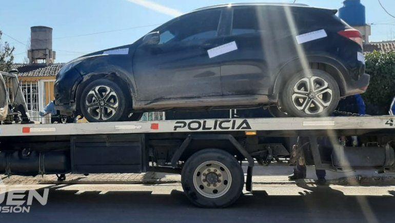 Encontraron en Neuquén la camioneta que había sido robada en El Manzanar