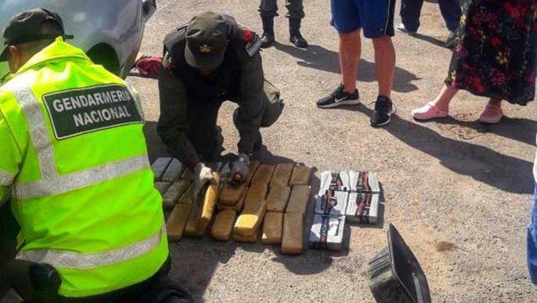 Condenaron a narcos atrapados en Roca con 63 kilos de marihuana