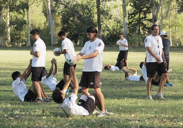 Cipolletti volvió a los entrenamientos