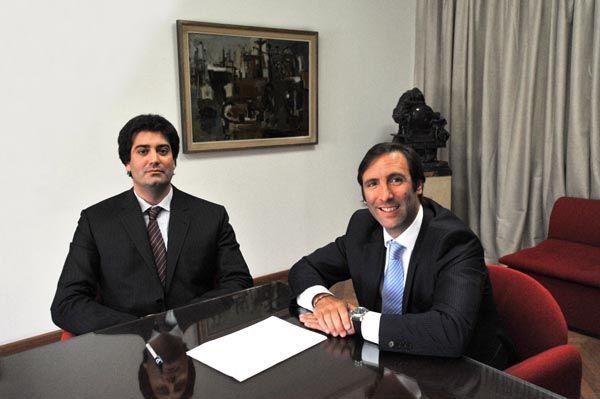 Pichetto se reunió con el ministro de economía de la Nación