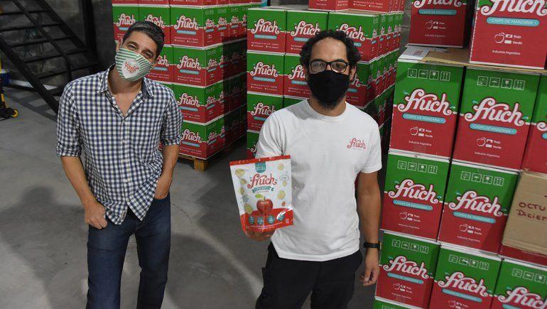 Fruch, el snack cipoleño tiene nueva fábrica y sigue creciendo