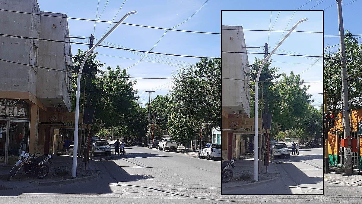 para que son los postes blancos que estan instalando en todo cipolletti