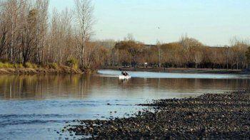 la crisis hidrica afecta la produccion de agua potable en cipolletti