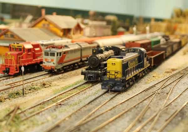 La historia ferroviaria en miniatura